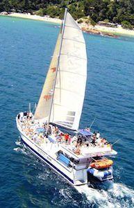 catamaran Cruise Lloret de Mar despedidas