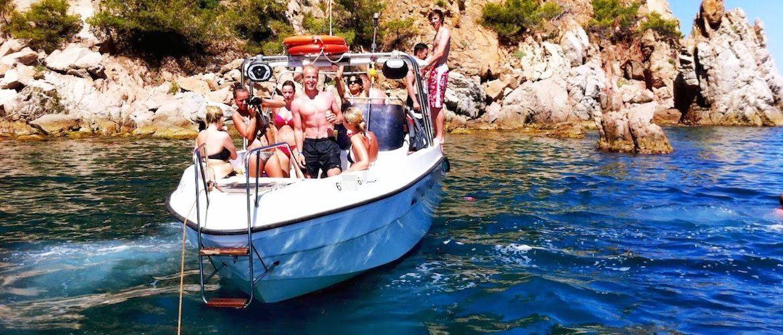Barco para despedidas Costa Brava