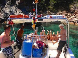 Bluesail Costa Brava bachelor parties
