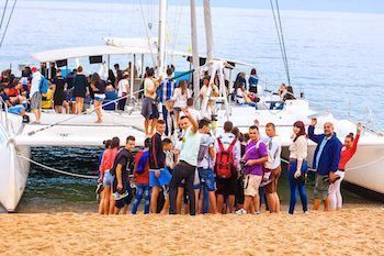 Catamaran Tossa de Mar despedidas