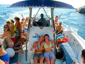 Boat Trips Lloret de Mar - bachelor parties