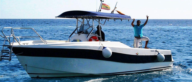 Lloret de Mar excursiones en barco